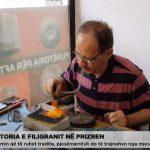 Punëtoria e filigranit, që synon ruajtjen e këtij artizanati në Prizren